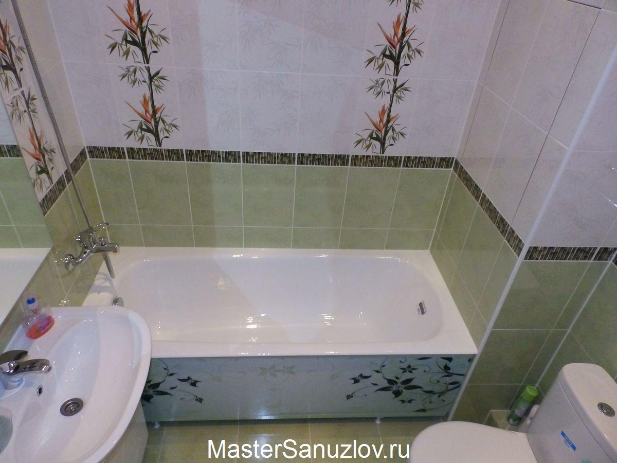 Заказ недорого ремонта ванной комнаты в Москве