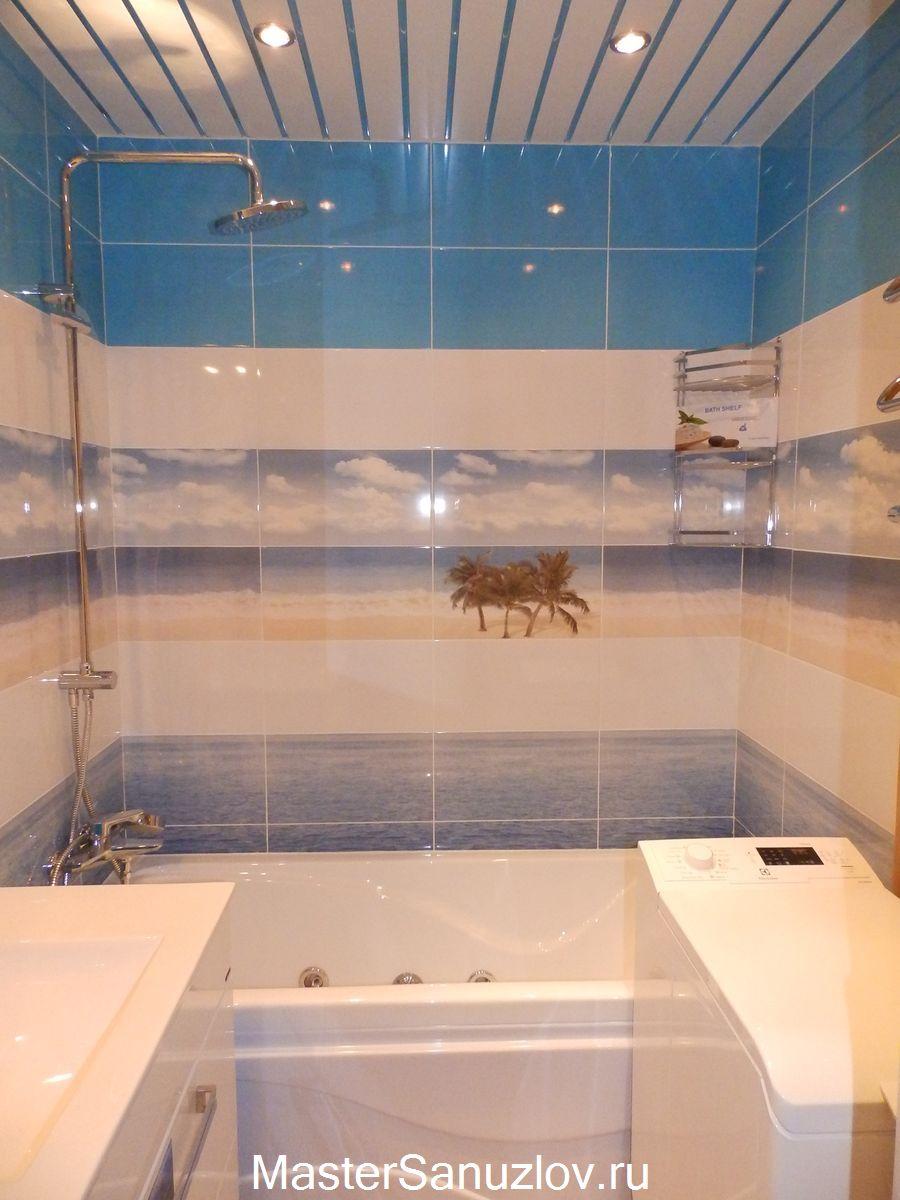 Альтернатива кафельной плитке в ванной