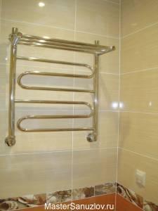 удобный полотенцесушитель в ванную