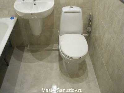 Фото ванной в спокойных тонах