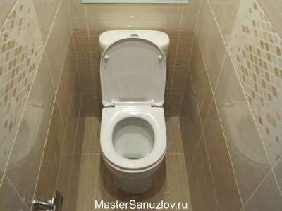 Фото туалетной комнаты в спокойных цветах