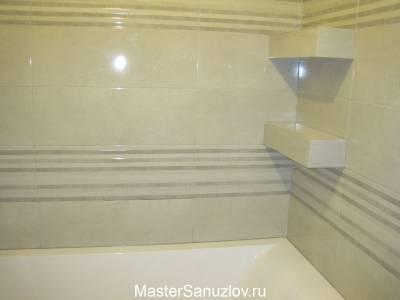 Удобные полки для ванной комнаты