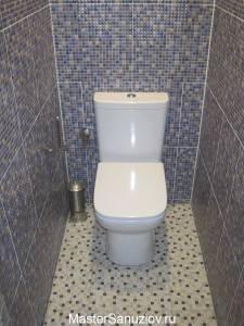 Фотография туалета  в кафеле
