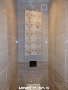 Скрыты полки в ванной