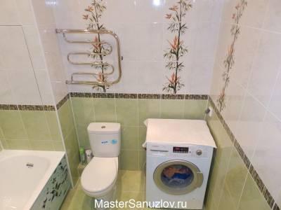 Фисташковый цвет в дизайне ванной комнаты