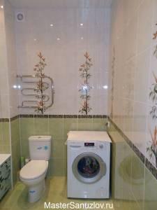 Фисташковый цвет в дизайне ванной