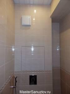Фото туалета в кремовом цвете