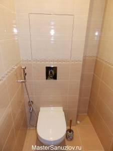 Фото туалетной комнаты в кремовом цвете