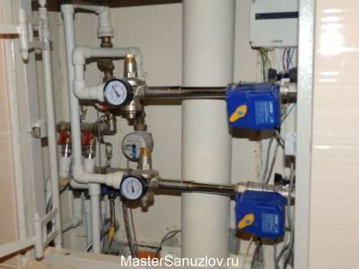 Приборы учета горячей и холодной воды