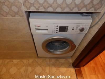 Ниша для стиральной машины