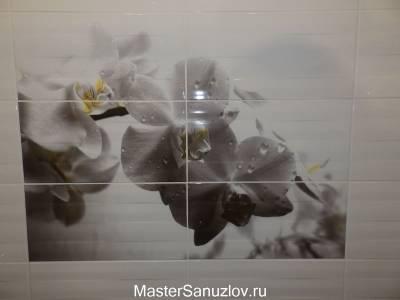 Фотоплитка в современном дизайне санузла