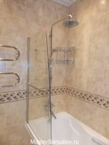 Шторки для ванной комнаты стеклянные