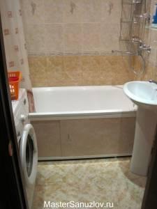 Фотография маленькой ванной