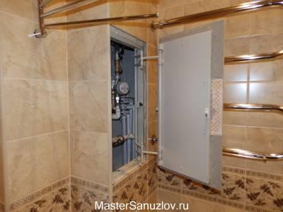 Сантехническая дверца вид с боку