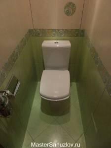 Дизайн туалетной комнаты в лаймовом цвете