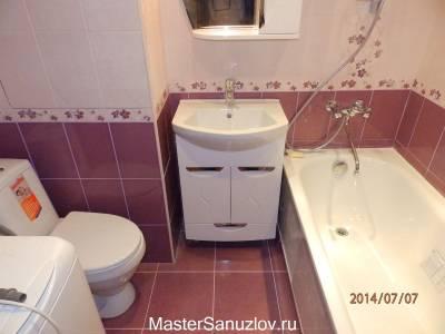 Фото маленькой ванной комнаты вид сверху