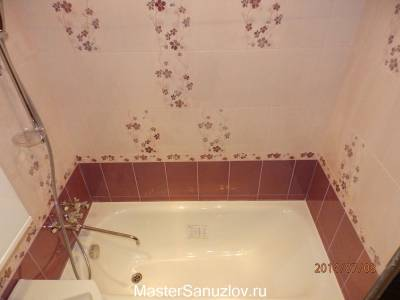 Цветочные акценты в дизайне ванной
