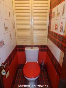 Британский дизайн туалета