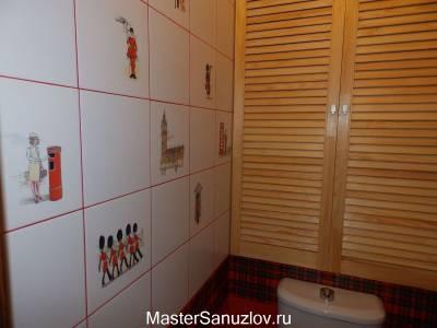 Британский дизайн ванной комнаты
