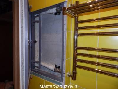 Сантехническая дверь