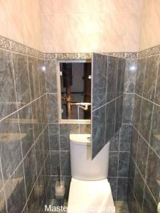 Удобный доступ к комуникациям в туалете