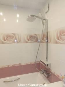 Фотоплитка с розами для ванной комнаты
