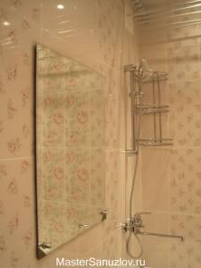 Дизайн-проект ванной комнаты в стиле шебби шик