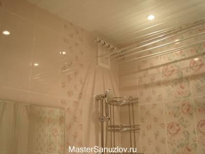 Дизайн-проект ванной в стиле шебби шик