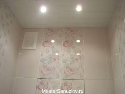 Дизайн ванной комнаты в стиле шебби шик