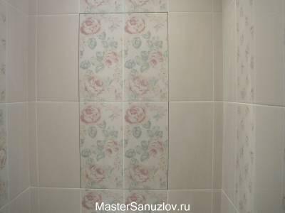 Дизайн ванной в стиле шебби шик