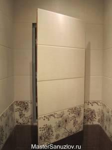 Сантехническая дверь под керамическую плитку
