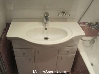 Красивая раковина в ванную комнату