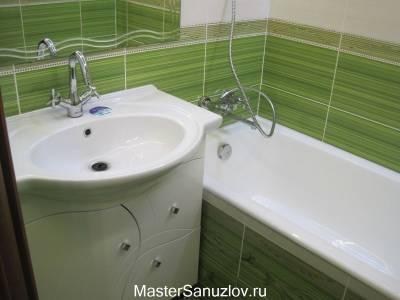 Растительные мотивы в оформлении ванной комнаты