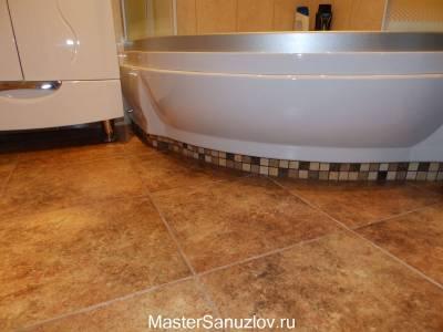 Полкак элемент дизайна ванной