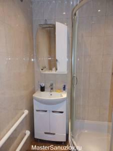 Светлые оттенки в интерьере ванной