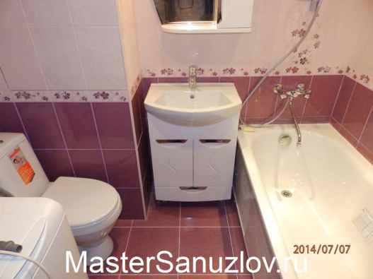 Конструктивное и визуальное увеличение маленькой ванной