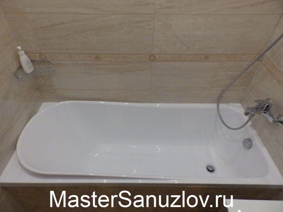 Как отремонтировать акриловую ванную самостоятельно