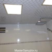 Ремонтпотолка в ванной