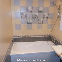 Ремонт ванной с плиткой