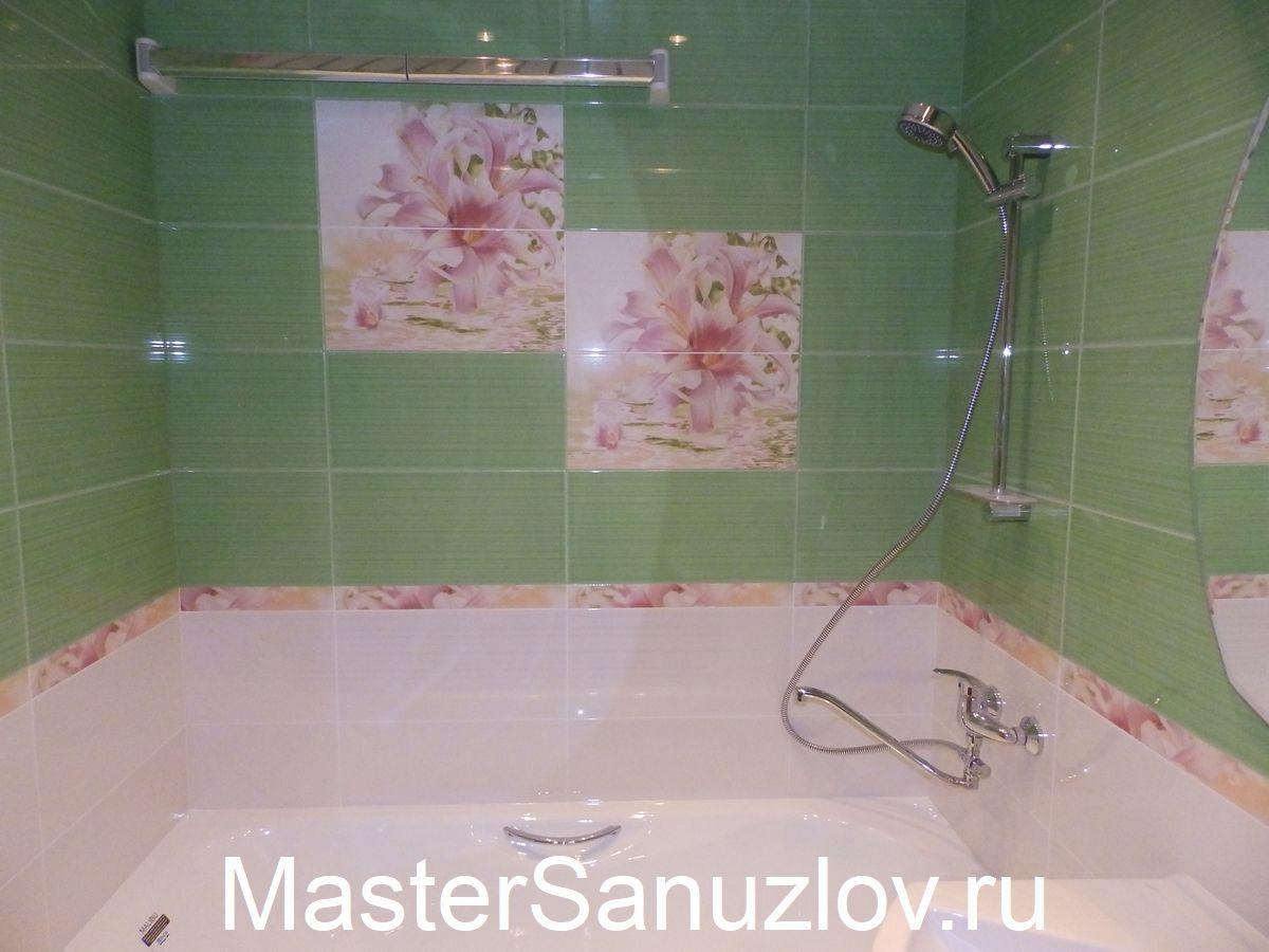 ванная с пластиковыми панелями