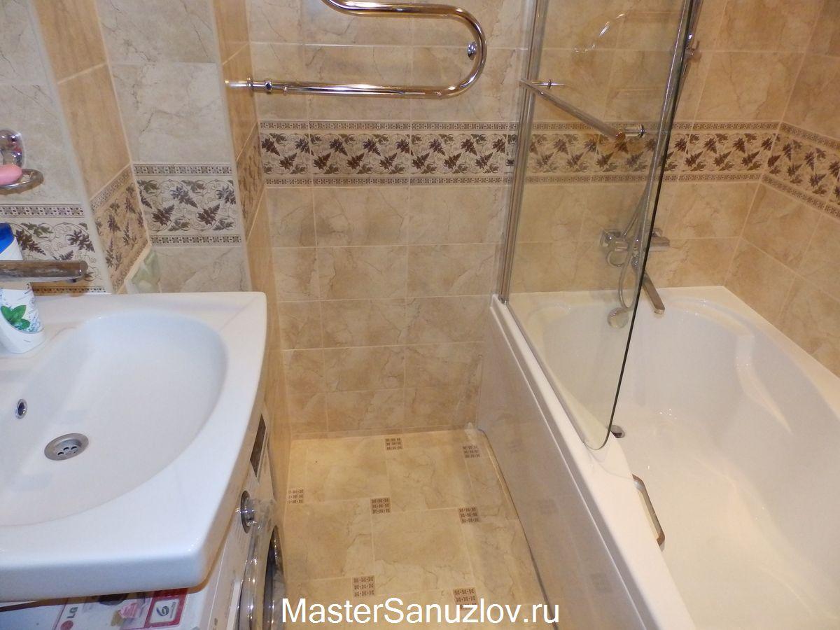 Фото-секреты увеличения маленького помещения ванной комнаты